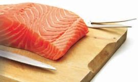 Wild Sockeye Salmon Cut