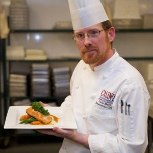 Dale Meek Executive Chef Casino New ♦ Nouveau - Brunswick