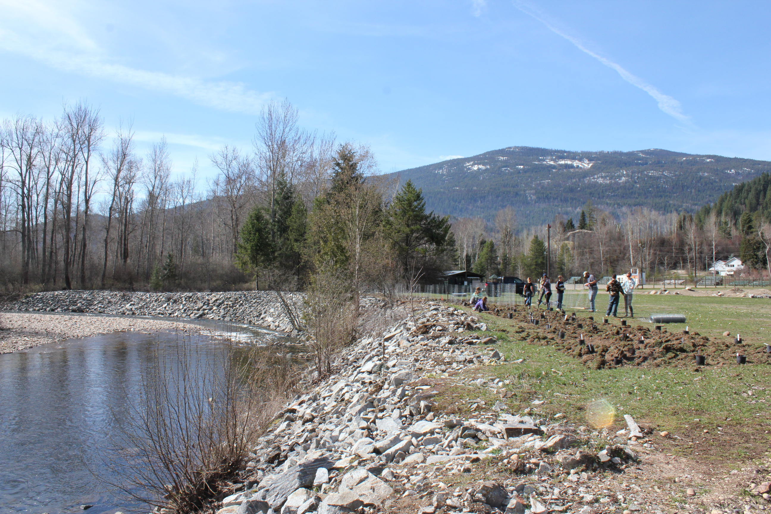 Pass Creek Maintenance and Fish Habitat Creation 2015-2016