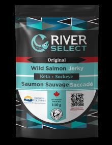 Wild Smoked Salmon Jerky - Original | 110g