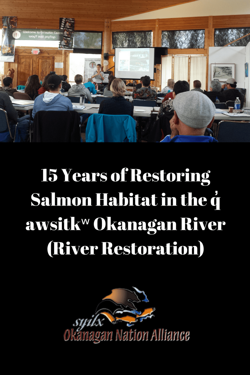 15 Years And Makeup: 15 Years Of Restoring Salmon Habitat In The Q̓awsitkʷ